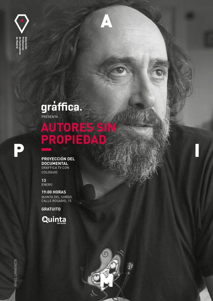 APIM proyectará el documental Autores sin Propiedad