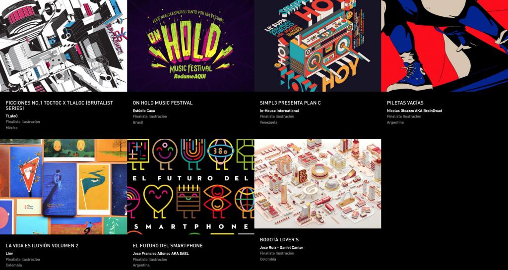 Latin American Design Awards - Ilustración
