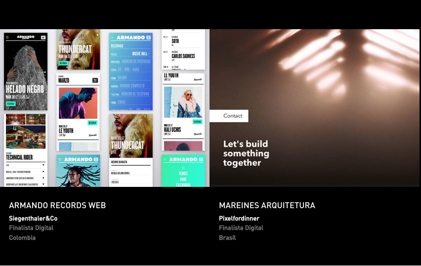 Latin American Design Awards - Digital