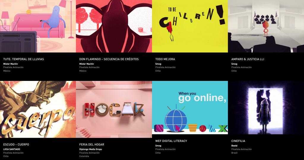 Latin American Design Awards - Animación