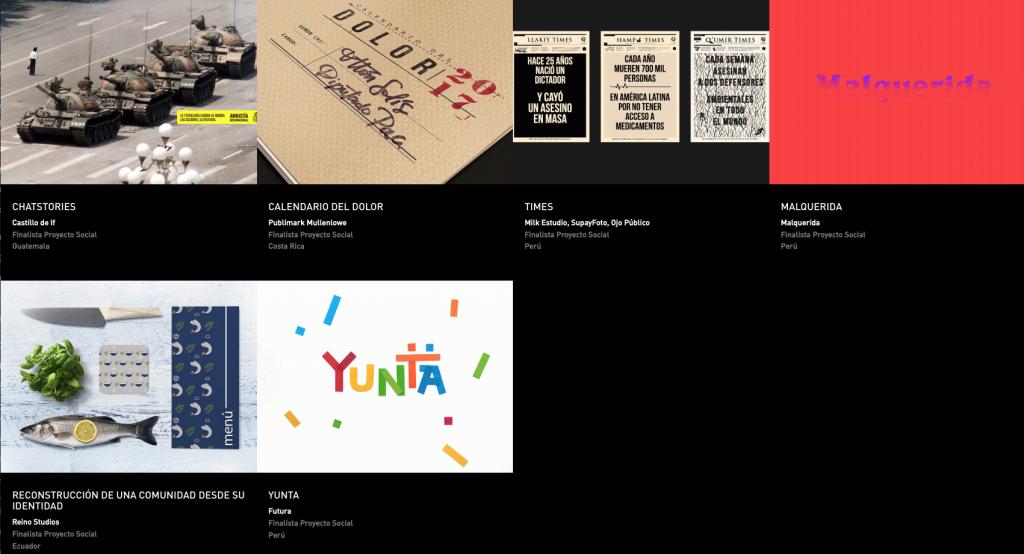Latin American Design Awards - Proyecto social