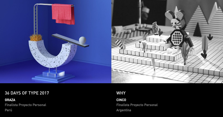 Latin American Design Awards - Proyecto personal