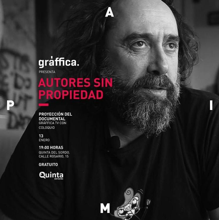 APIM proyectará el documental 'Autores sin propiedad'