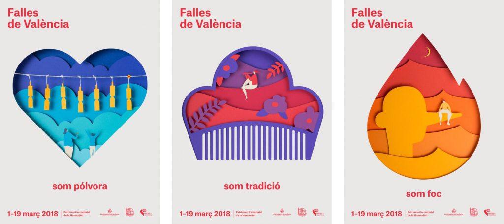 Carteles Fallas 2018