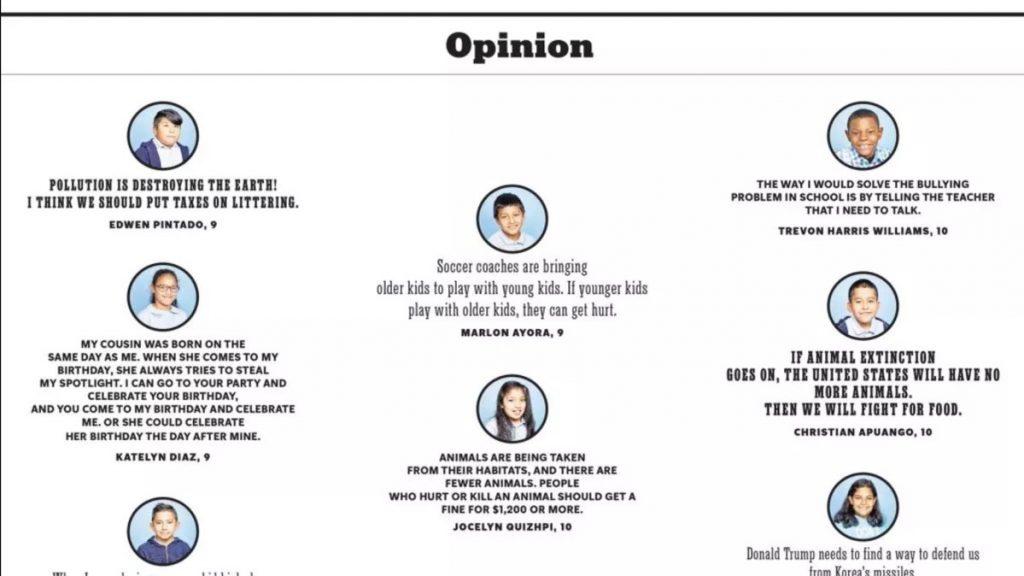 Nuevo diseño editorial para la versión de niños del New York Times - imagen autores