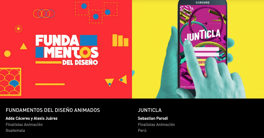 Latin American Design Awards - Animacion - Estudiantes
