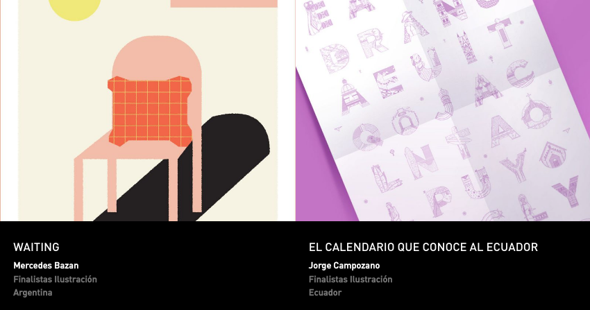 Latin American Design Awards - Ilustracion - Es tudiantes