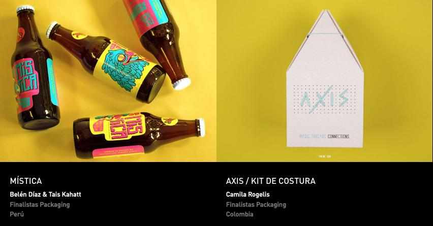 Latin American Design Awards - Packaging - Estudiantes