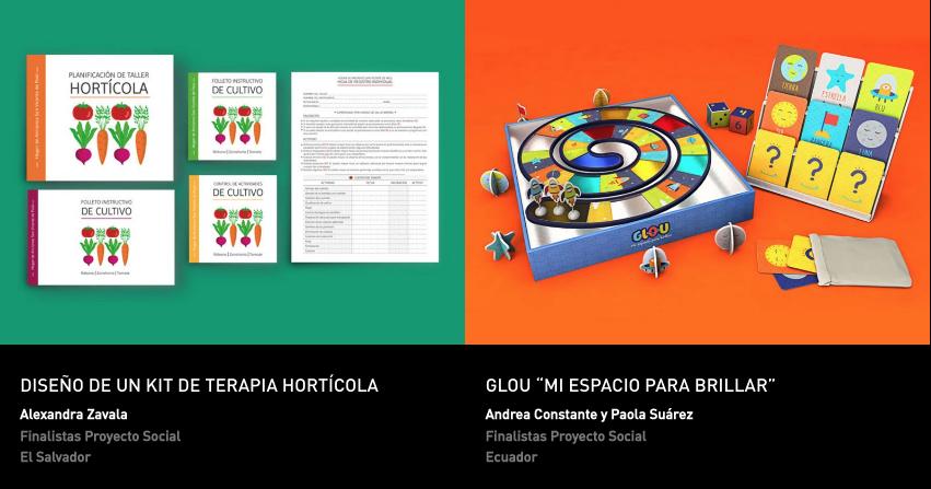 Latin American Design Awards - Proyecto social - estudiantes