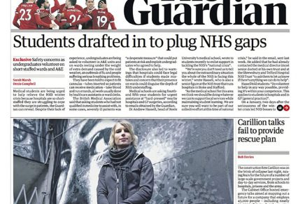 The Guardian rediseña su versión impresa y digital