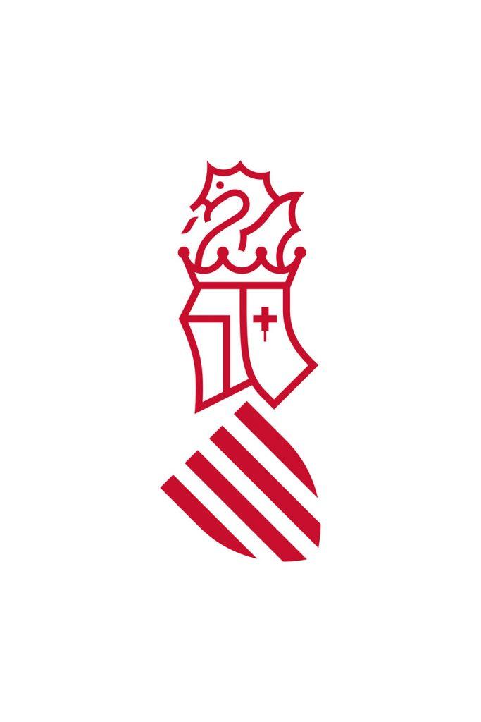 Nueva marca Generalitat Valenciana simbolo rojo