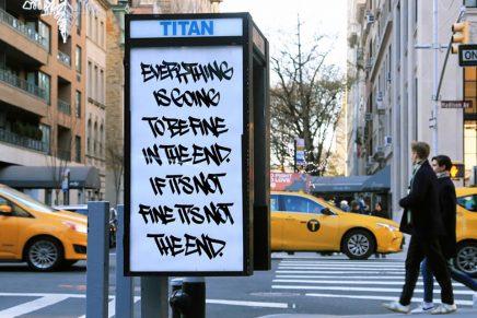 Art in Ad Places, arte público en las cabinas de teléfono de Nueva York
