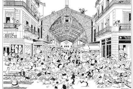 Blanco Ibarz, toda una vida de caricaturas
