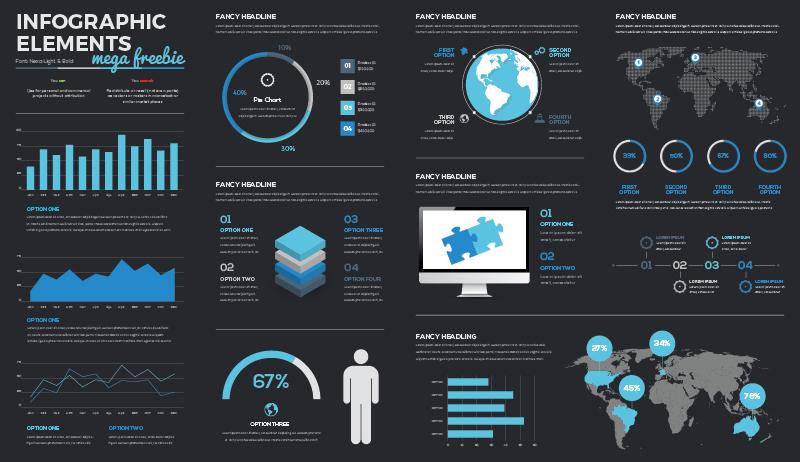 paso para crear una infografía