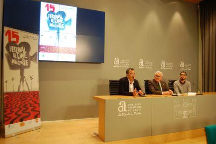 La 15ª edición del Festival de Cine de Alicante ya tiene cartel anunciador