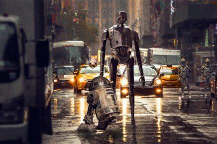 Star Wars en la vida real, la serie fotográfica de Laurent Pons