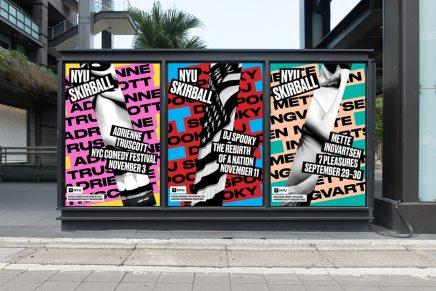 Pentagram diseña la nueva identidad para el Centro de Artes Escénicas de Nueva York