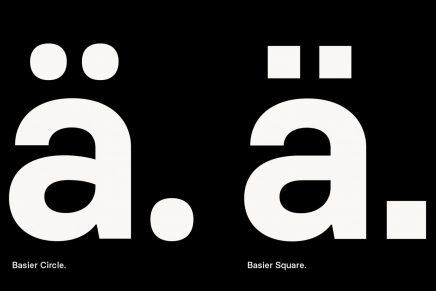 Atipo presenta su nueva tipografía Basier