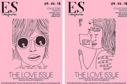 David Shrigley diseña cuatro portadas exclusivas para ES Magazine por San Valentín