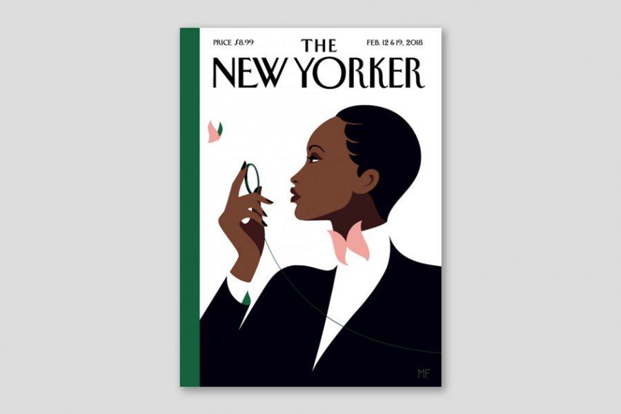 Malika Favre ilustrará la nueva versión de la primera portada de The New Yorker
