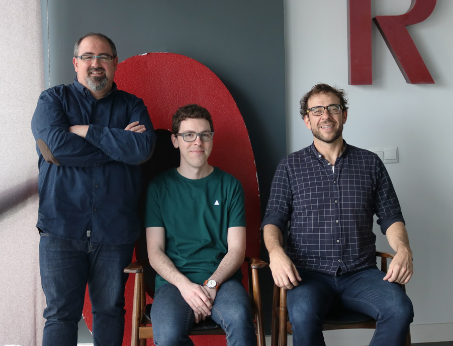 De izquierda a derecha: Mariano Sarmiento, Sergio Gómez y Daniel Esteban - diseño estratégico