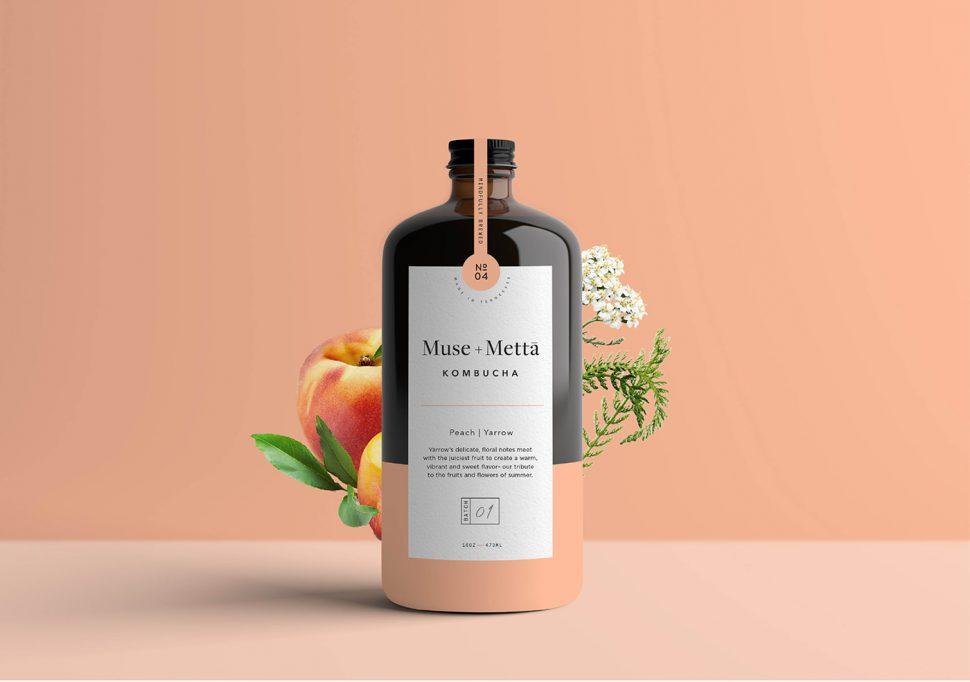 El packaging minimalista de Muse+Mettā promueve una cultura de salud y arte