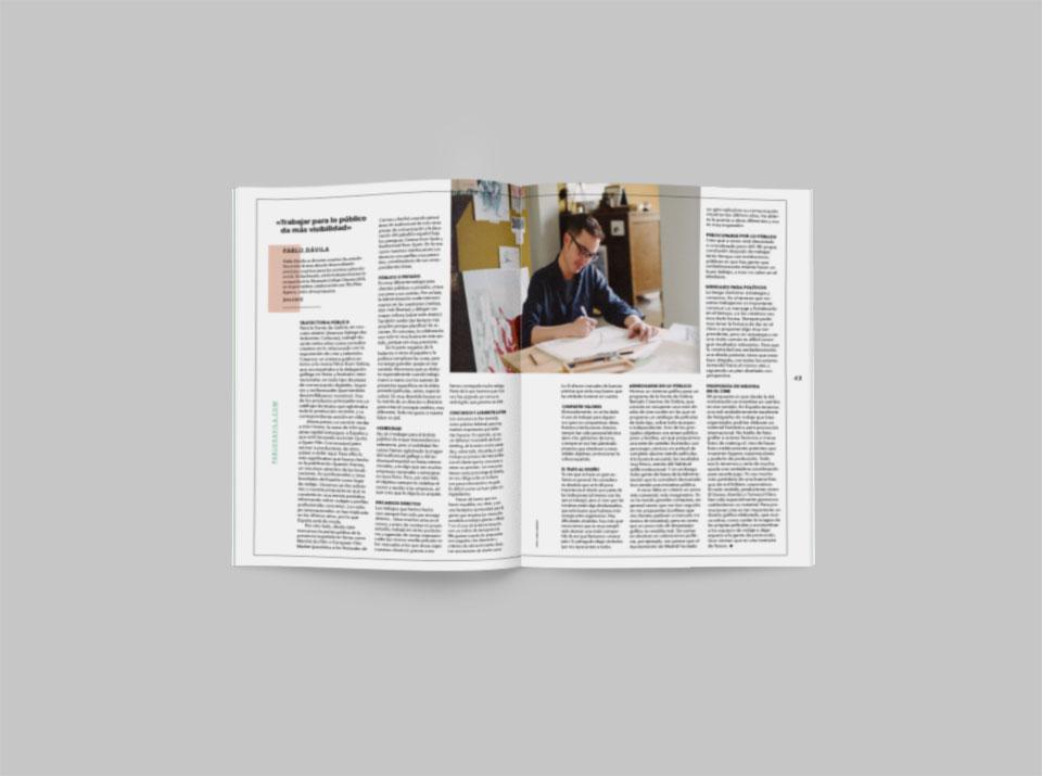 revista graffica 8 Pablo Davila entrevista 1