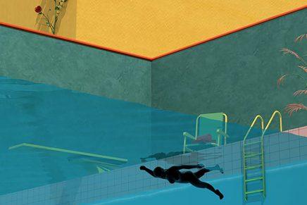 Tishk Barazanji refleja la ansiedad y la soledad a través de sus ilustraciones surrealistas
