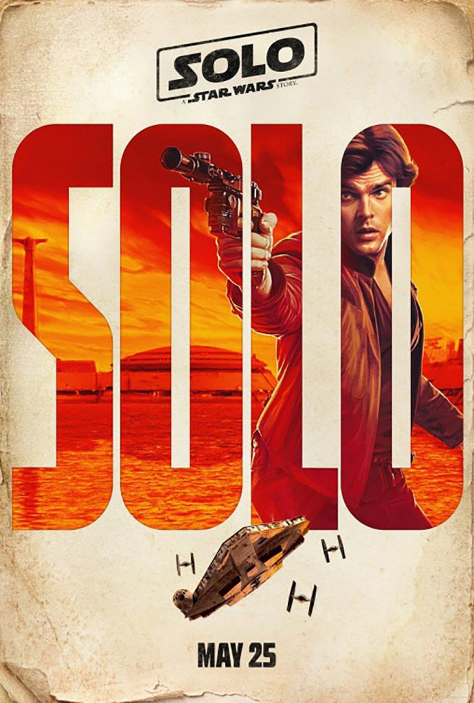 carteles de Solo A Star Wars Story