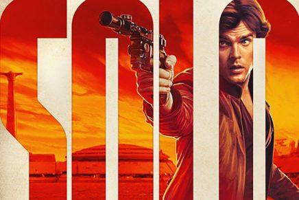 La tipografía como protagonista en los carteles de 'Solo: A Star Wars Story'