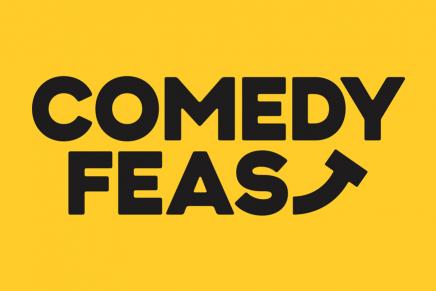 Este branding de Comedy Feast conseguirá sacarte una sonrisa