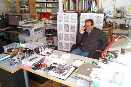 Sento Llobell recibe el Premio José Sanchis Grau por su carrera como ilustrador