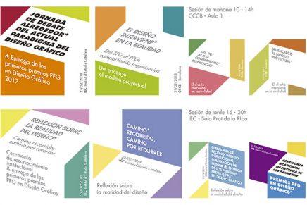 Jornada Universitaria de debate sobre el diseño gráfico y Premios Proyecto Fin de Grado