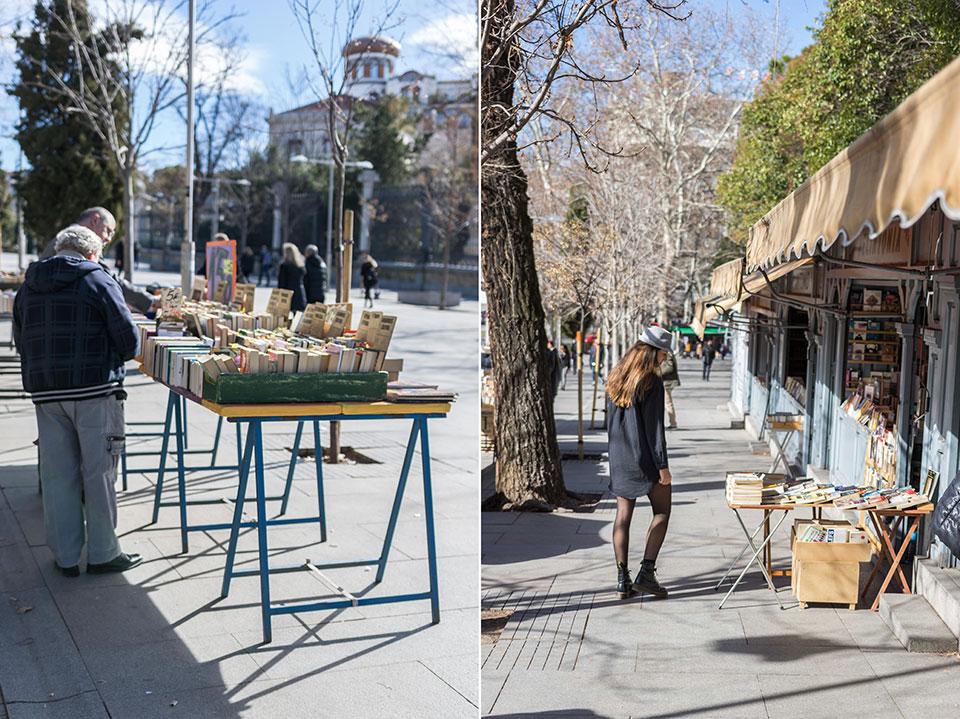 librerias Madrid Cuesta de Moyano Retiro