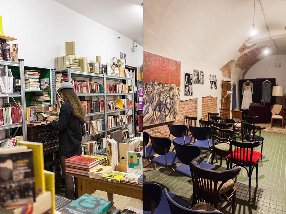 librerias Madrid Sin Tarima cueva