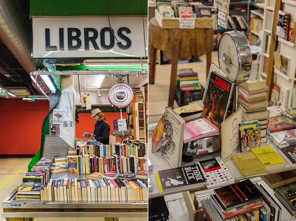 librerias Madrid La Casqueria mercado
