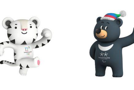 Estas son las dos mascotas de PyeongChang 2018