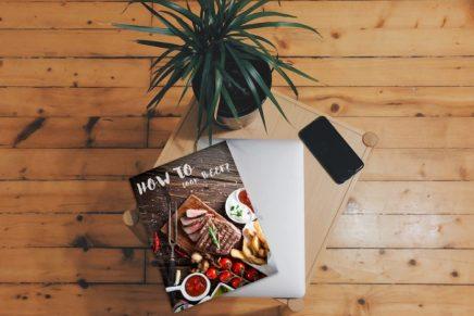 10 mockups PSD gratuitos de diseño editorial para revistas
