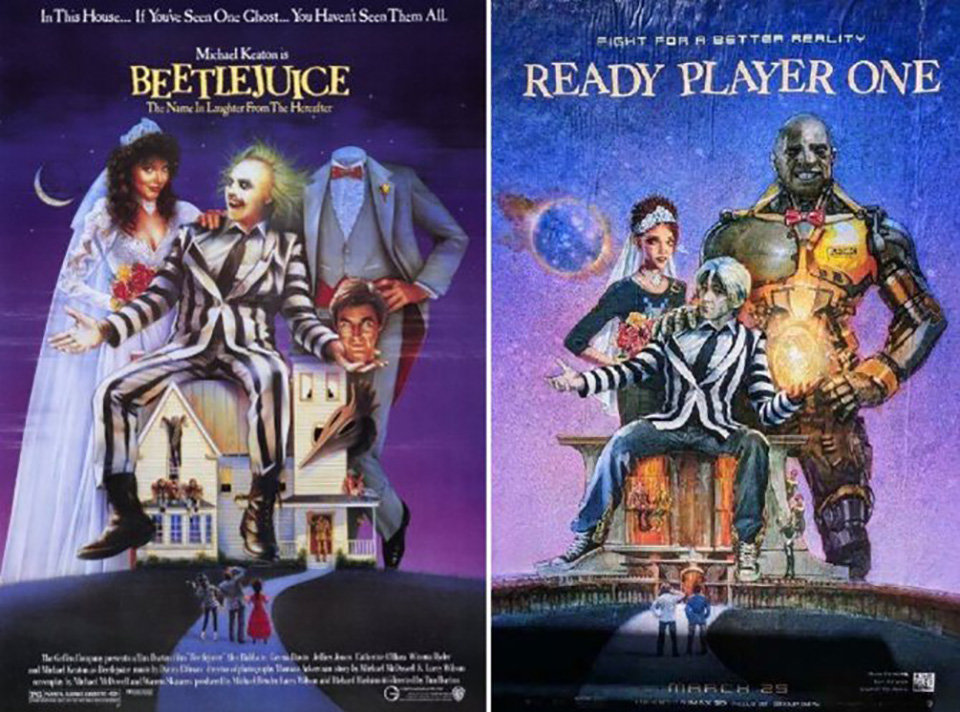 Beetlejuice ready player one