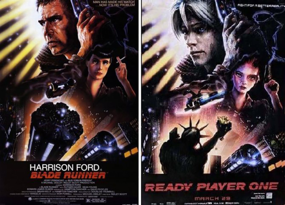 Ready Player One blade runner