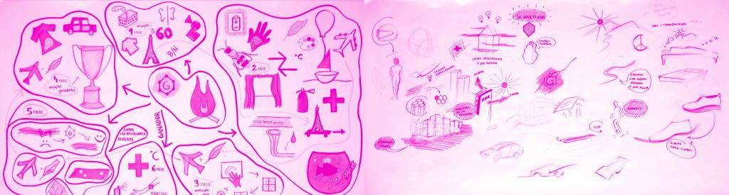 Dibujos en Grafeno (un material para un cambio de paradigma)