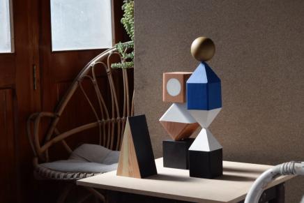 Si no sabes qué regalar a un diseñador, aquí tienes una bonita y geométrica idea