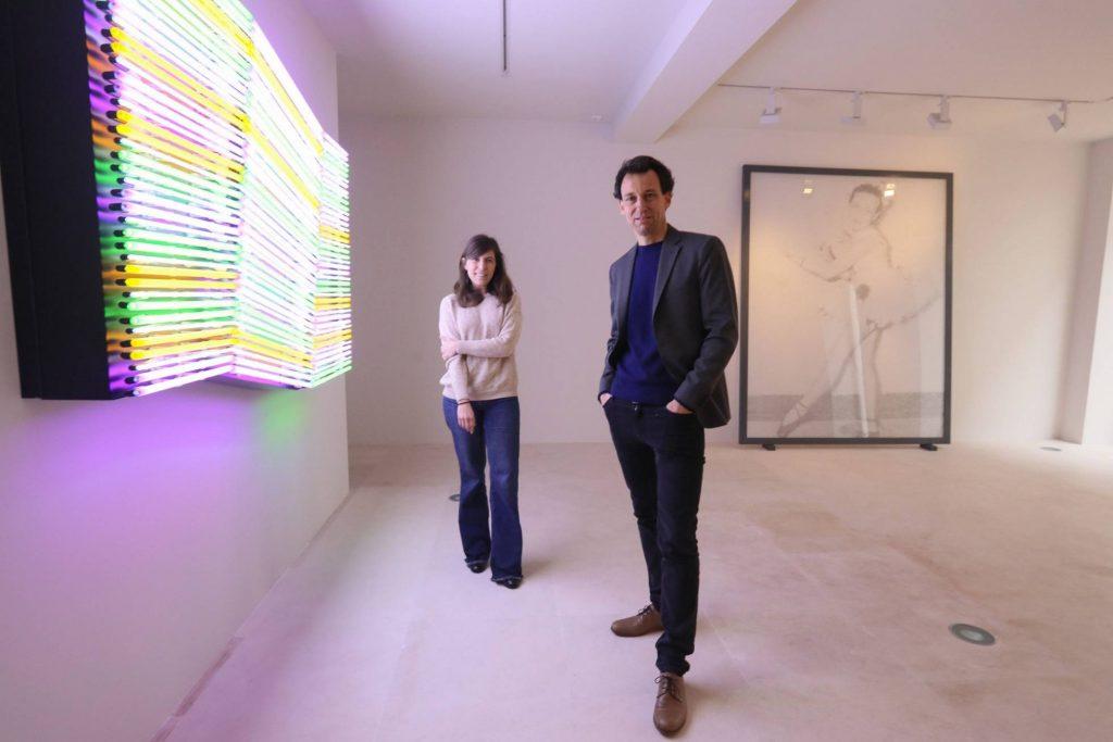 Eva Albarran y Christian Bourdais