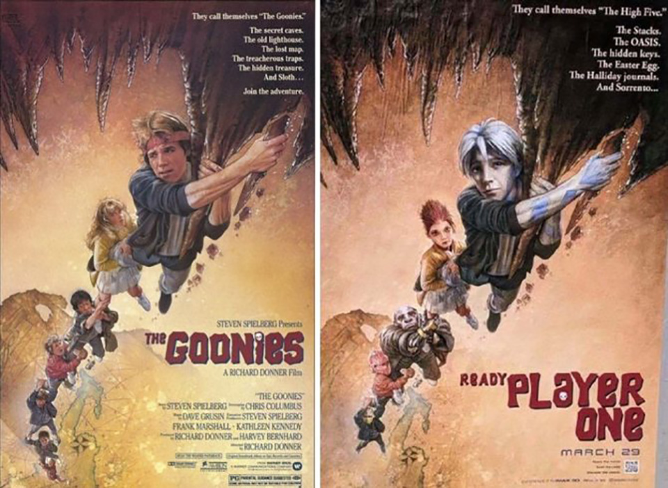 ready player one the goonies