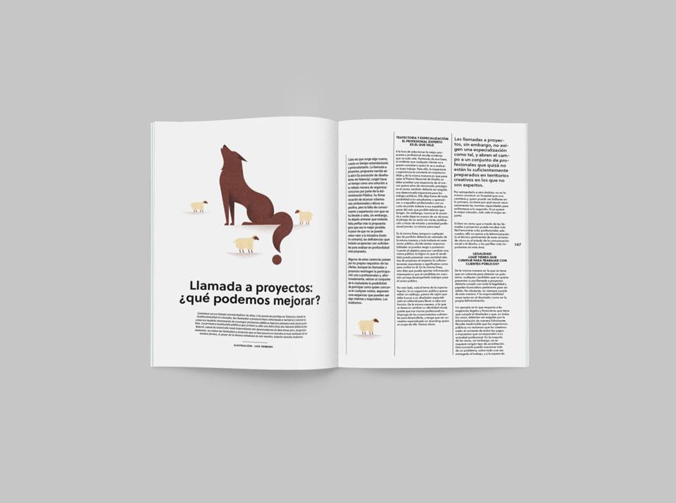 revista graffica 8 llamada proyectos primer mockup 1