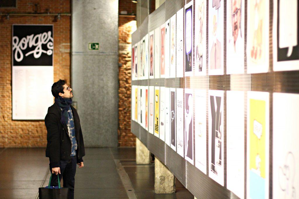 Exposicion homenaje a Forges organizada por Dimad