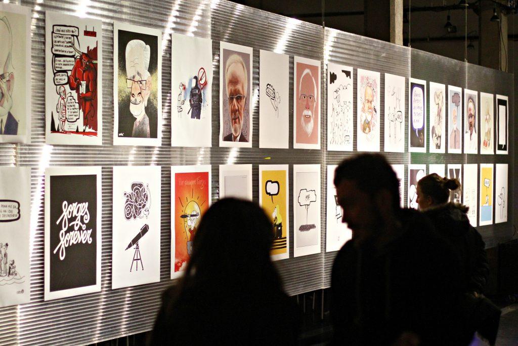 Exposicion homenaje a Forges organizada por Dimad 3