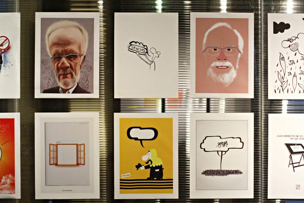 Exposicion homenaje a Forges organizada por Dimad 4