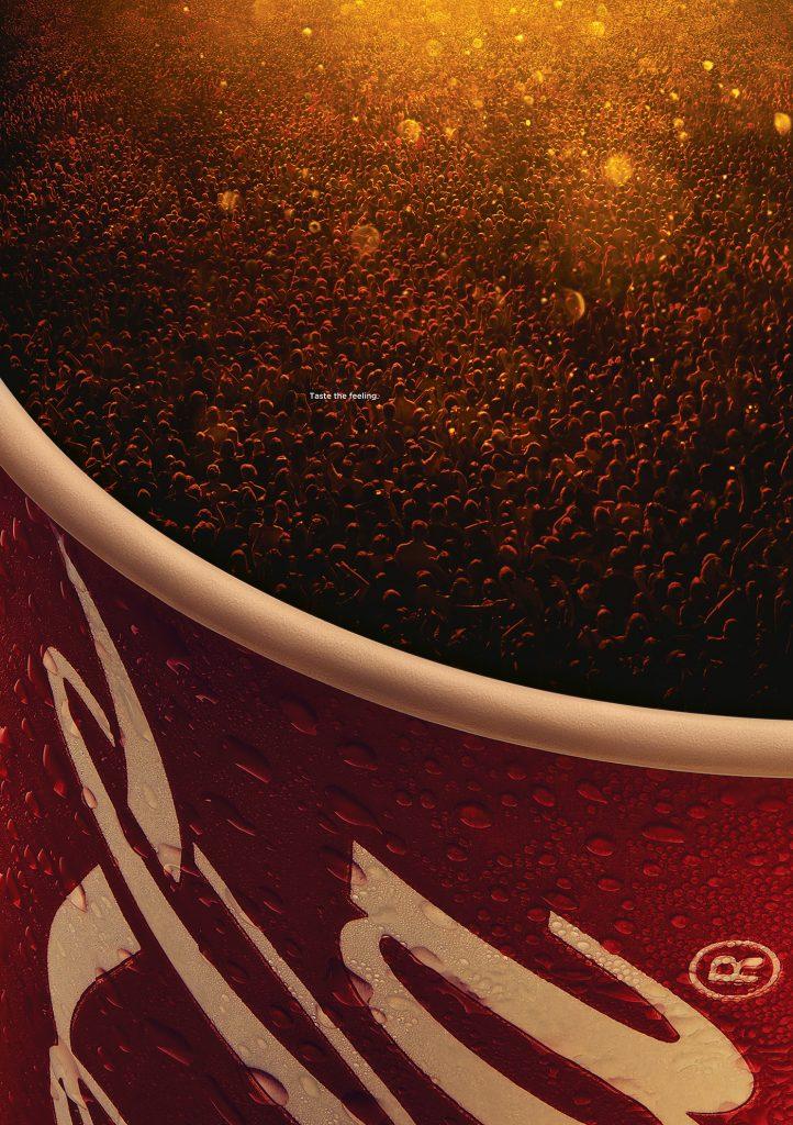 Imagen de la publicidad de Coca Cola