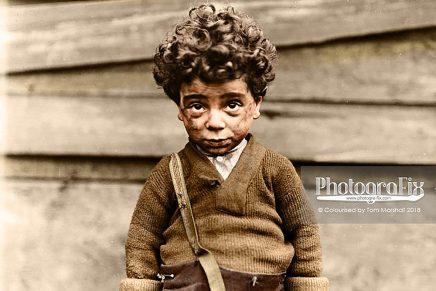 'Niños ocultos: trabajo infantil americano', la serie de Lewis Wickes
